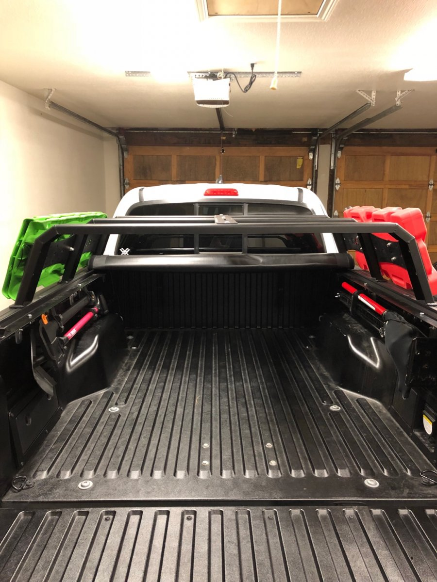 Tonneau Cover With Rci Bed Rack Tacoma Forum Toyota